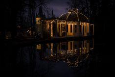 Vánoční výzdoba zámeckého parku 2017