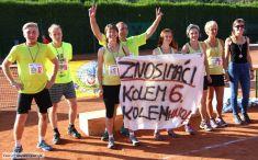 3. zručský štafetový maraton, 8týmů, tenisové kurty aokolí