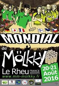 Mölkky, 20.mistrovství světa Francie