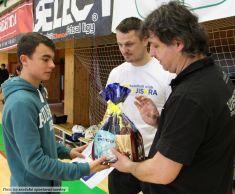 Zimní turnaj vházené, SH Zruč n. S., 4celky, 2015