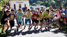 10. ročník Kácovského běhu, účast 9běžců aběžkyň Jiskry