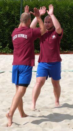 Beach volejbal, turnaj dvojic - dva kurty, 2013