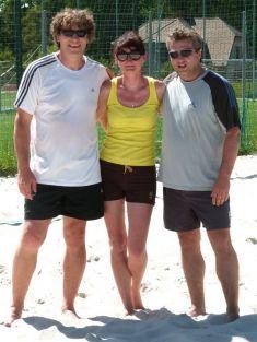 Beachotvírák - 1.ročník, osm týmů, dva kurty, 2014