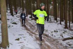 42. ročník Zimního běhu naBlaník, Luboš Drbal aMartin Lejnar, 2016