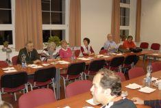 1. společná schůzka zástupců spolků sídlících na SD 15. 11. 2012
