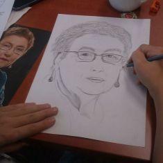 Kreslení pravou mozkovou hemisferou - říjen 2013