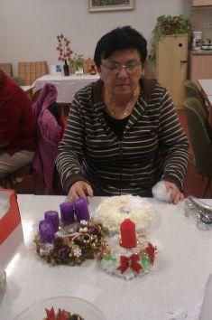 Adventní věneček - Svaz žen 12. 9. 2014