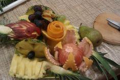 Kurz ozdobného vykrajování ovoce 30. 9. 2014