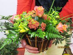 Květinový kurz 19. 5. 2015