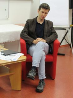 Křeslo prohosta - Ondřej Ševeček 14.9. 2017