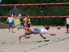 Beach volejbal - turnaj smíšených trojic 15. 7. 2007