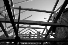 Oprava střechy bývalého lihovaru 23. 4. 2008