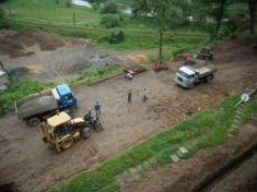 Úprava v okolí zámku 12. 8. 2009