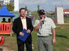 Otevření dětského dopravního hřiště 28. 9. 2009