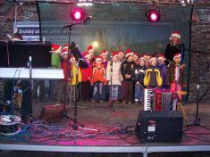 Rozsvícení vánočního stromku 6. 12. 2009