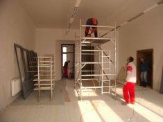 Rekonstrukce interiérů zámku 12. 1. 2010
