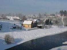 Zámek a park v zimě 27. 1. 2010