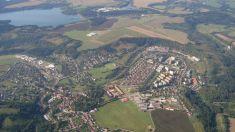 Letecké snímky Zruče 15. 8. 2011