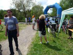 Slavnostní otervírání cyklostezky 5. 5. 2012