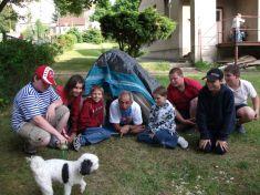 ZŠ Okružní - spaní ve škole 1. 6. 2012
