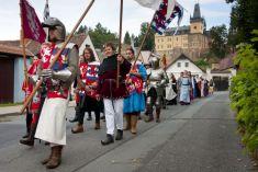 XII. Historické slavnosti 4. 8. 2012