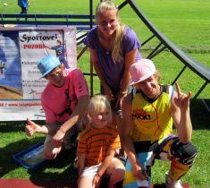 Den dětí a sportu na hřišti 18. 8. 2012