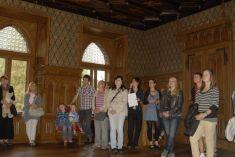 Netradiční prohlídka zámku 15. 9. 2012
