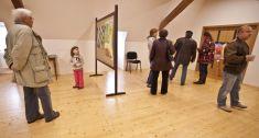 Vernisáž výstavy Jiřího Černého 4. 11. 2012