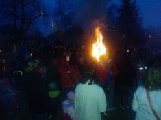 Lampionový průvod - čarodejnice 30. 4. 2013