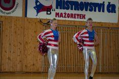 Mistrovství ČR mažoretek B finále skupin a sóloformací POM-POM  25. 5. 2014