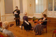 Hradozámecká noc a koncert renesanční a raně barokní hudby  30. 8. 2014