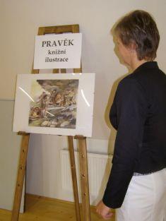 Vernisáž výstavy PRAVĚK - Inka Delevová  12. 10. 2014