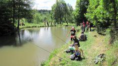 Dětský den rybárně 2017