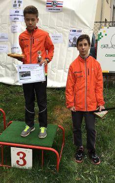33. ročník běhu přesměstskou horu vBerouně, 2016